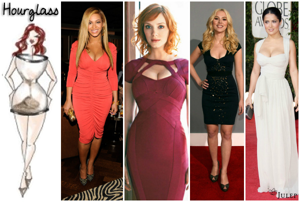 Choose gown when your body shape is an hour glass