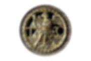 Rosace d'une copie de clavecin Blanchet réaliséepar Titus Crijnen
