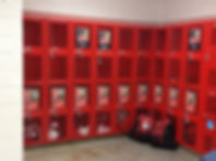 High school locker signs austin tx