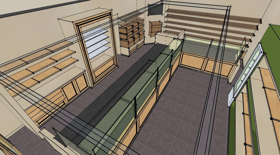 winkelinrichting, creatieve interieurinrichting en verbouwing van alle winkels en horeca