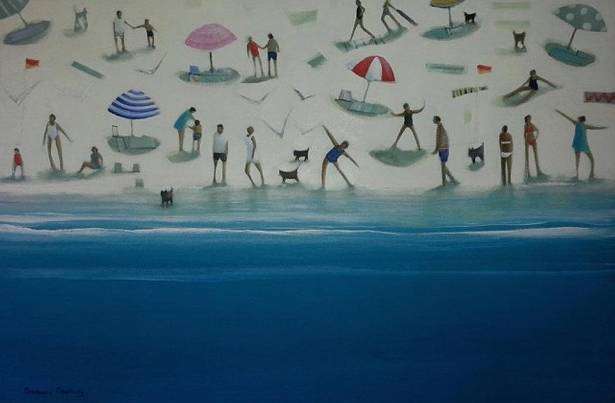 Beach,61 x 71 cm