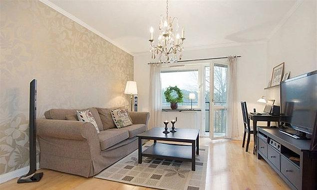 Дизайн интерьера двухкомнатной квартиры площадью 54