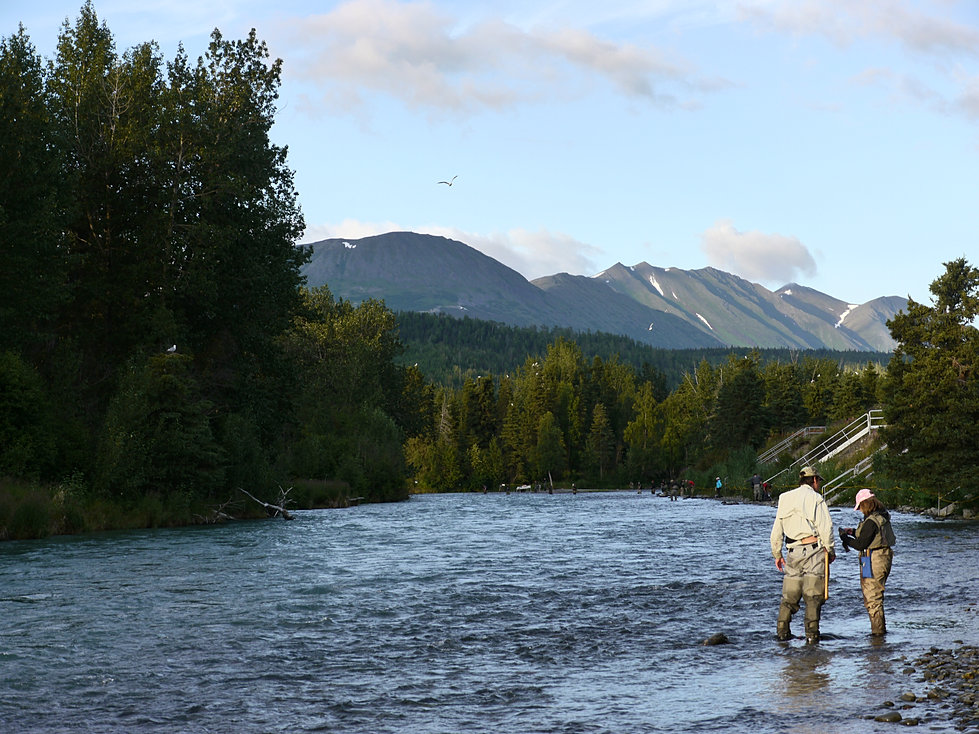 Alaska fishing on kenai and russian rivers for Russian river fishing