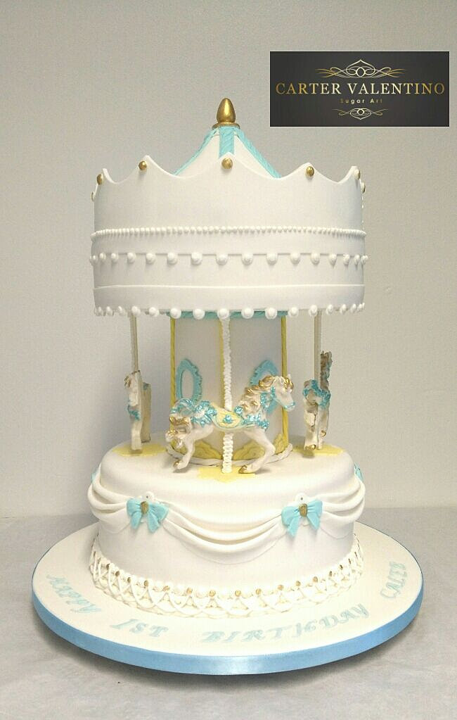 Cakes Poole Bournemouth Dorset Wedding Birthday Carousel
