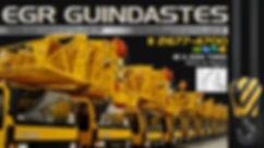 locação de guindastes de 18 a 220 tons, GUINDASTES EGR