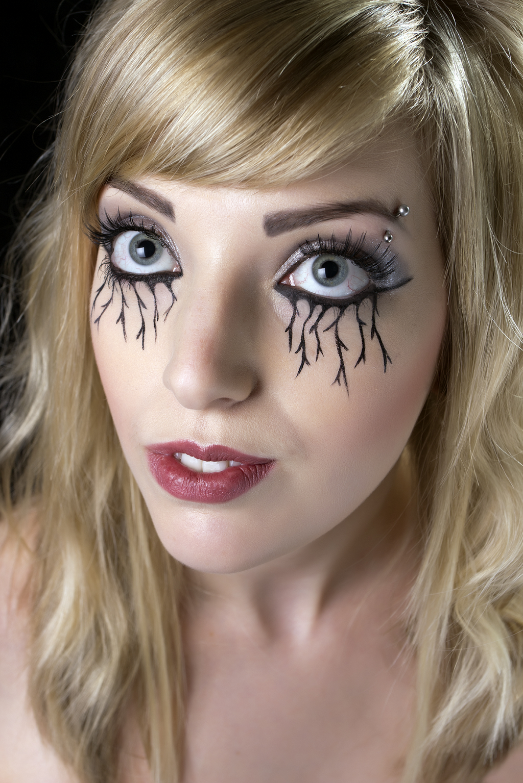 Gothic Wedding Makeup : Natalie Makeup Artistry, SFX Makeup Artist, Manchester ...