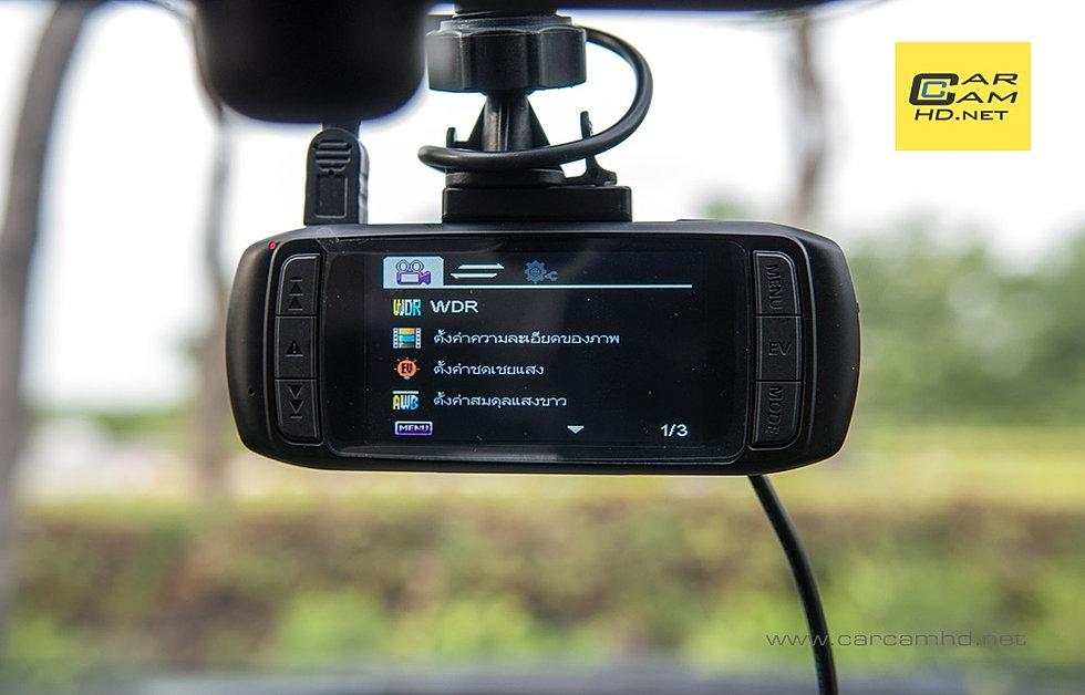 กล้องติดหน้ารถ DOD LS400W