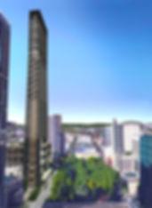 highrise portland skyscraper new Central City 2035