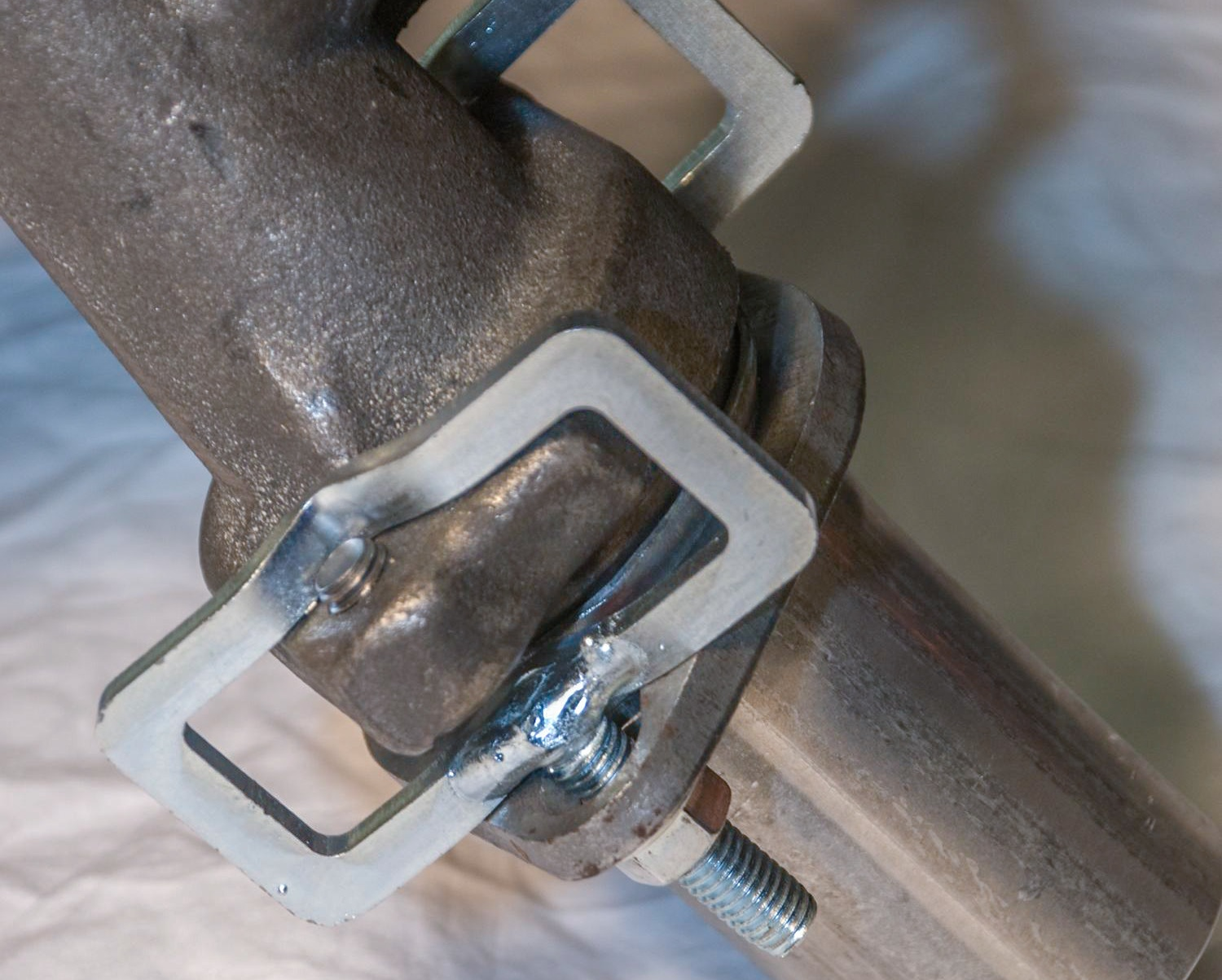 Exhaust manifold clamp a stud bing images