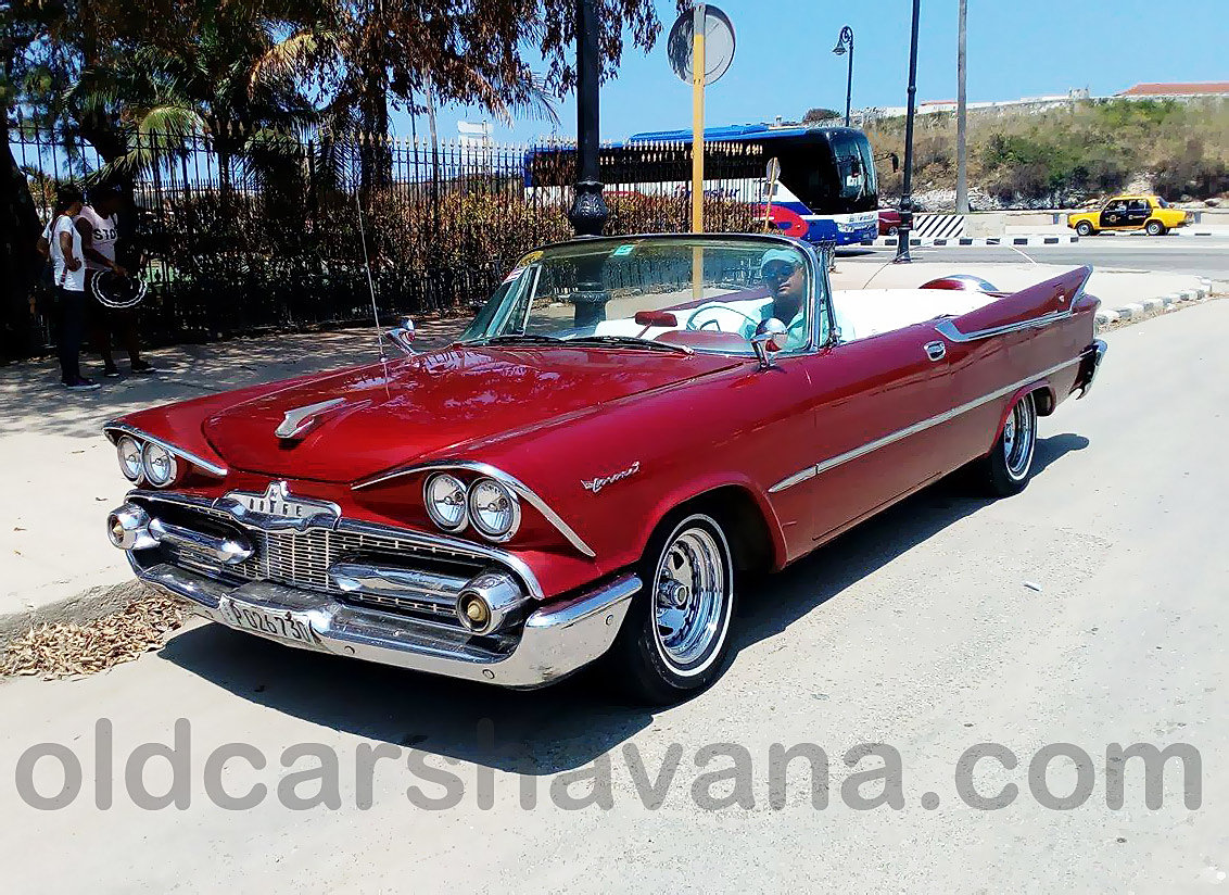 Old Cars Havana classic cars for different tours in Havana | Dodge ...