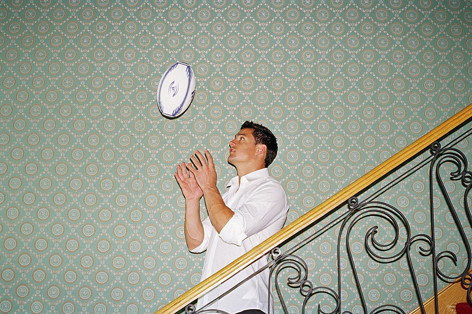 DAN CARTER - RUGBY PLAYER