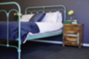 Empire Beds. Australian Made Beds. Windsor Cast Iron Bed in Cootamundra colour. Cast Iron Beds. Worught Iron Beds.