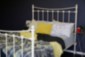 Empire Beds. Australian Made Bed. Sussex Cast Iron Bed. Cast Iron Bed. Wrought Iron Bed.