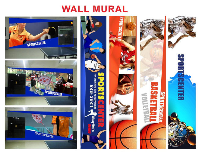 Compiled Sports Wall Murals