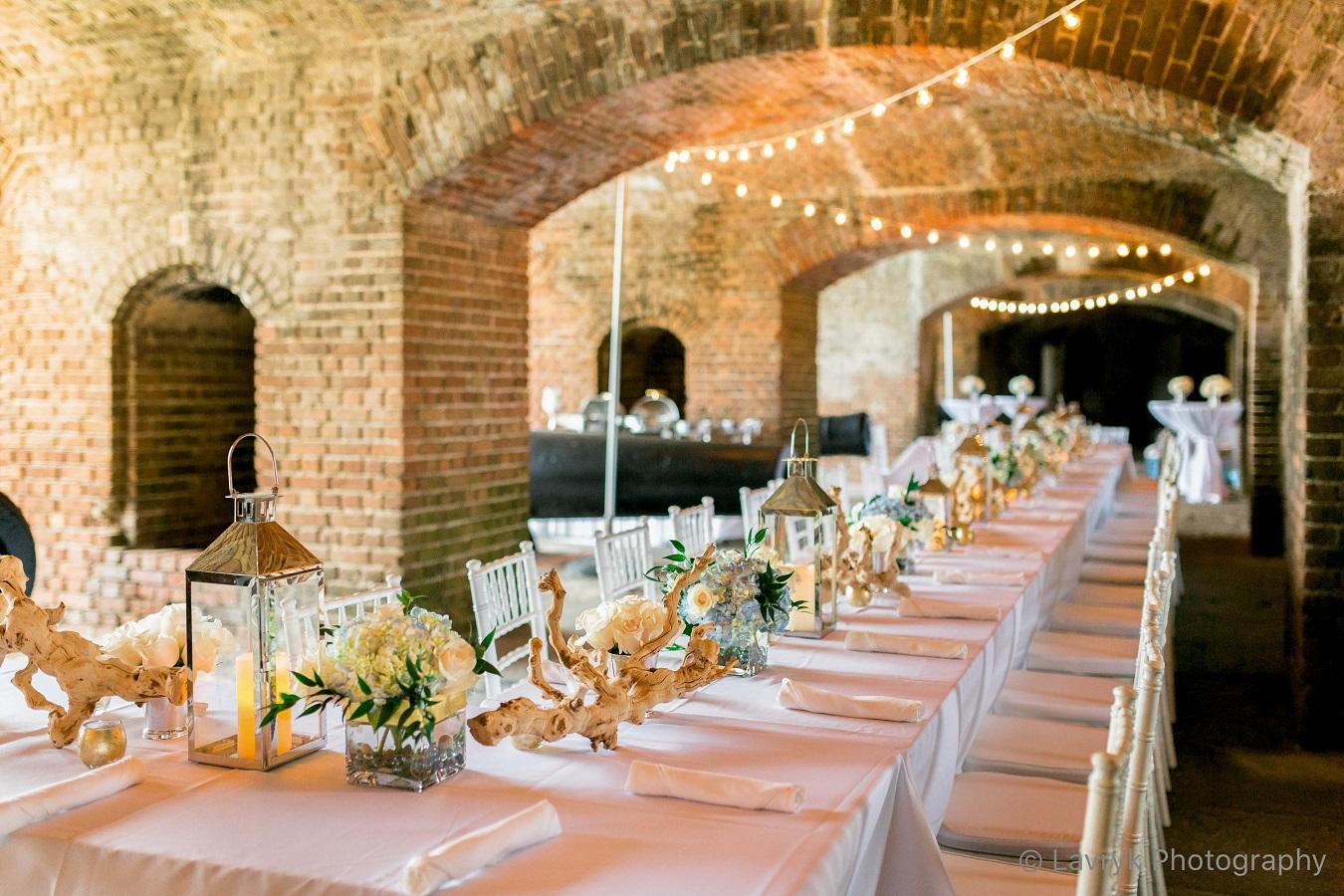 Ashley And Brad Key West Wedding Florist Fort Zachary Wedding