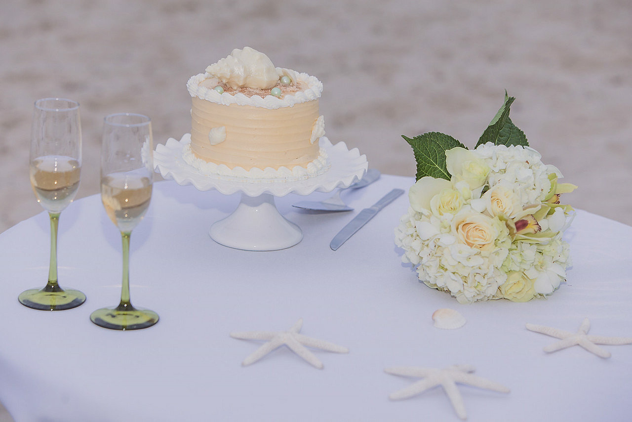 Key West Weddings Key West Wedding Packages 1 Tier