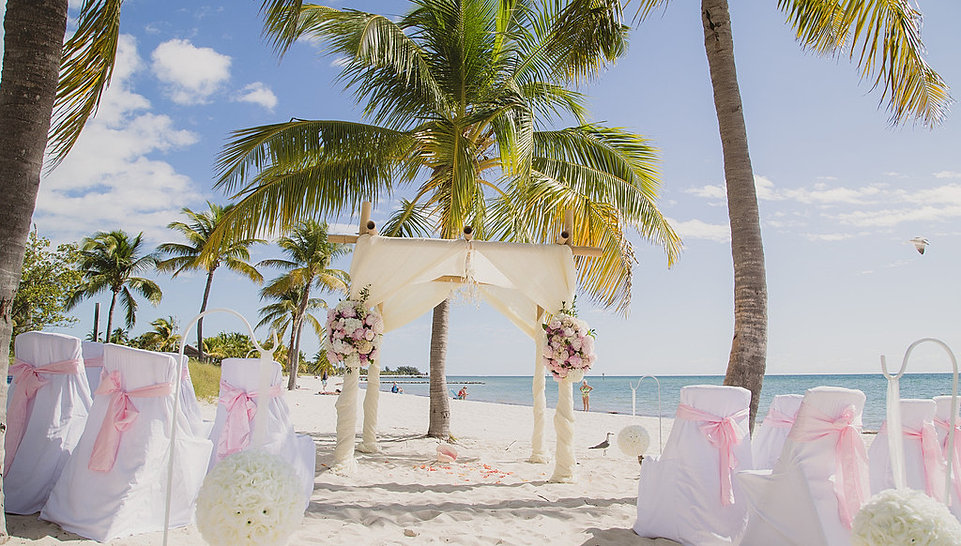 Say yes in key west surprise in paradise company for Key west wedding dresses