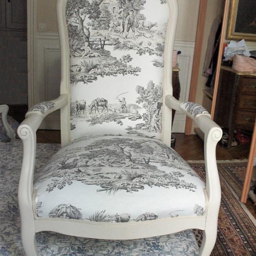fauteuils bergres - Fauteuil Ancien Bergere