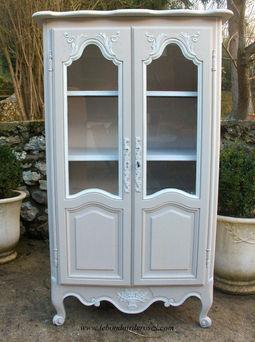 armoires bonneti res patin es style ancien louis xv xvi paris. Black Bedroom Furniture Sets. Home Design Ideas
