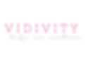 Vidivity Logo - Life in Motion large tra