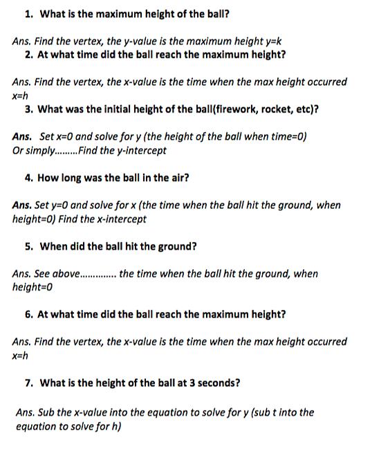 howtoquadratic – Quadratic Word Problems Worksheet