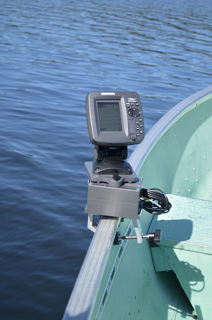 fish finder mounts  | humminbird 380 series made portable, Fish Finder