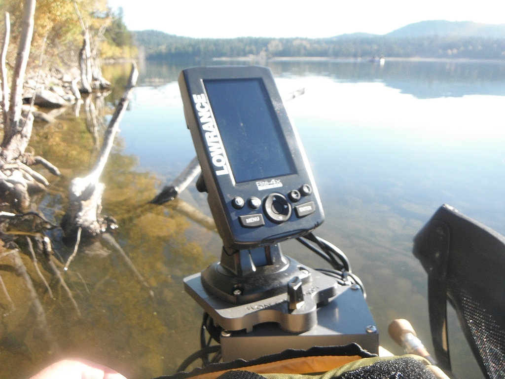 fish finder mounts  | elite 4x chirp mounting brackets, Fish Finder