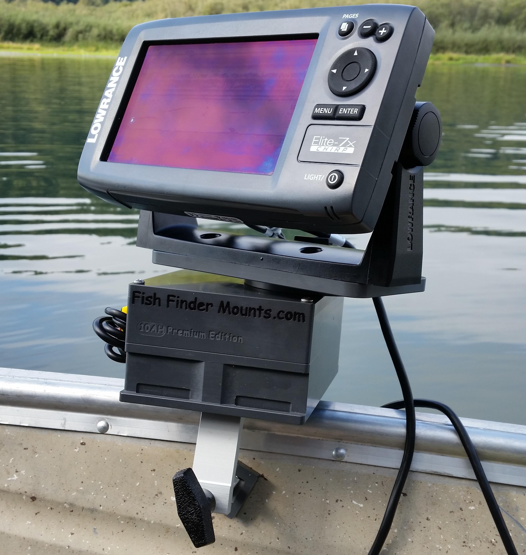 Fish finder mounts for Kayak fish finder mount