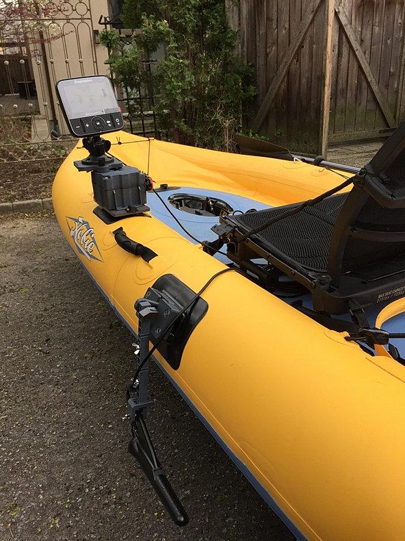 Fish finder mounts com for Kayak fish finder mount