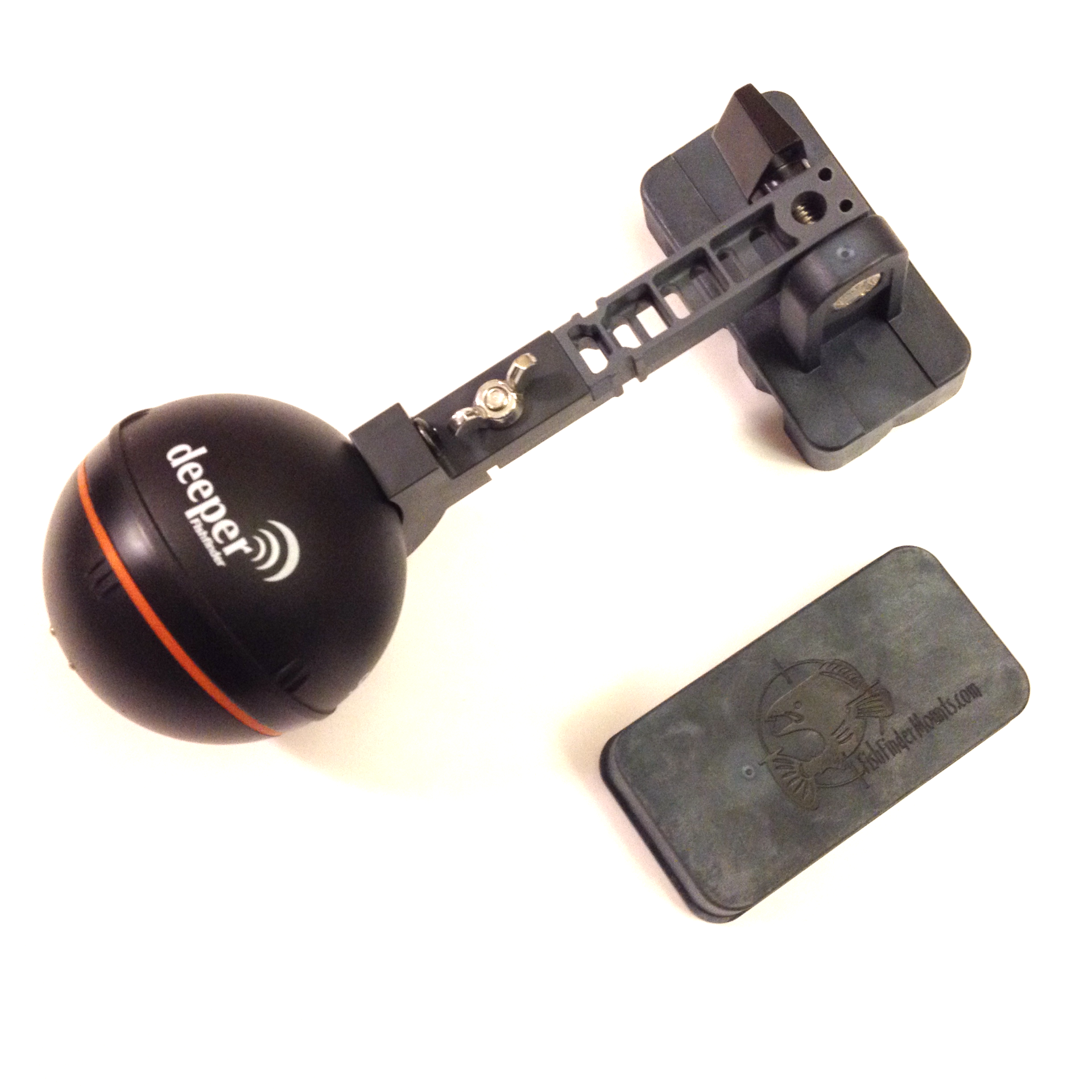 Deeper fish finder mount for Deeper fish finder