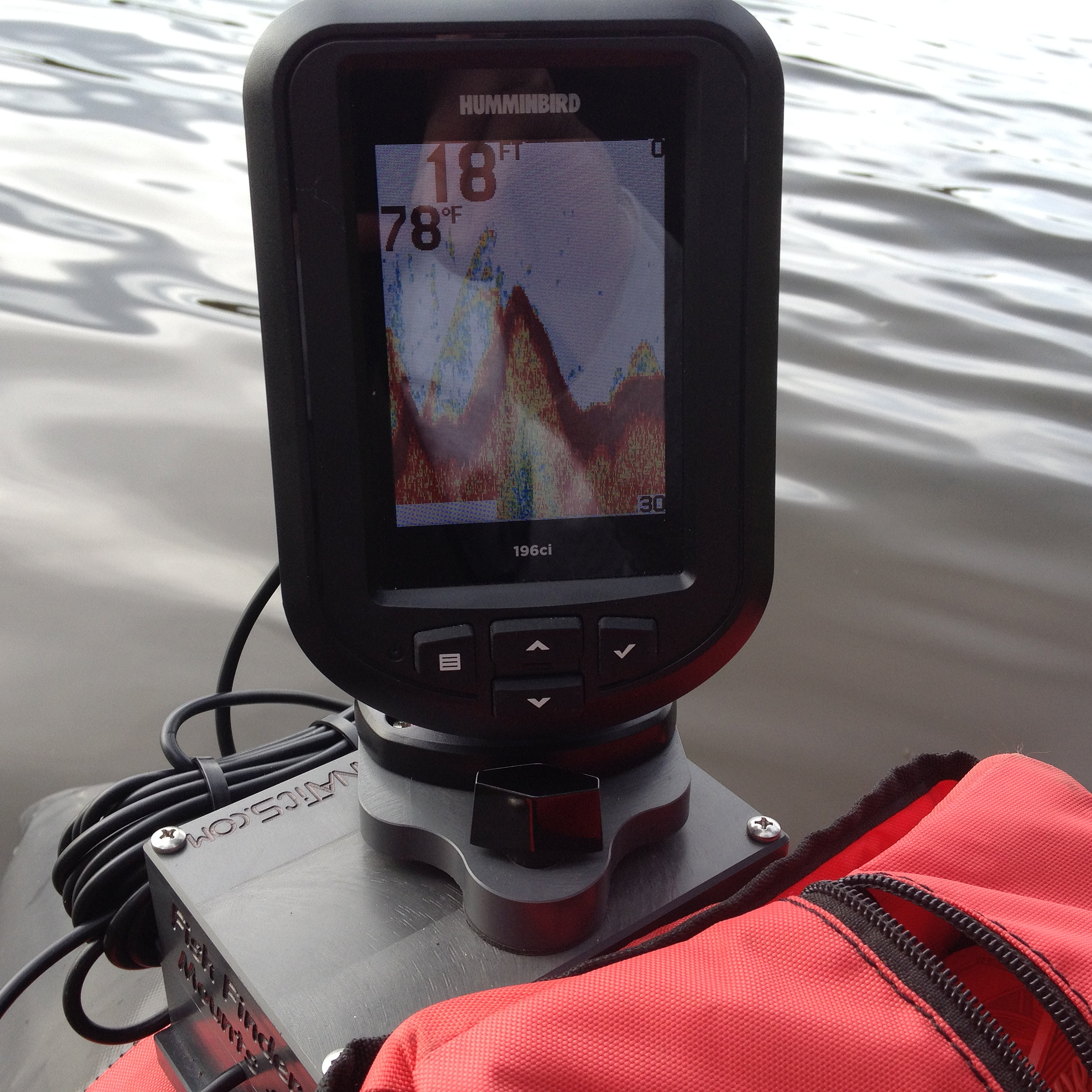 fish finder mounts  | humminbird 196ci, Fish Finder