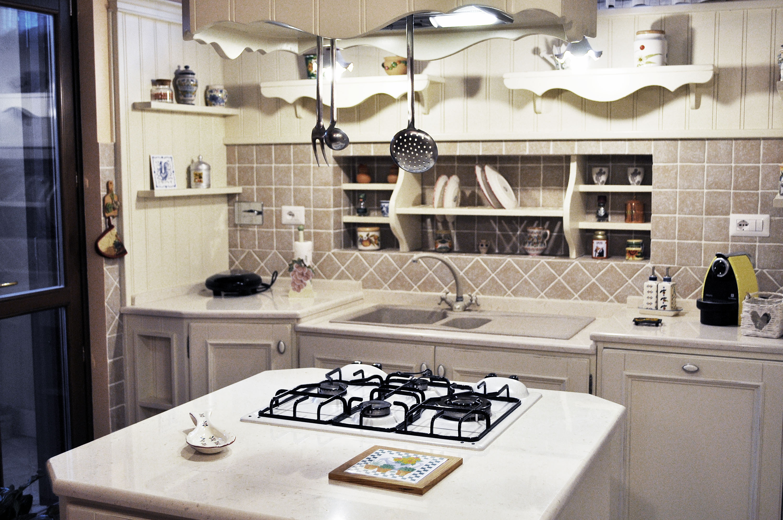Mensole per cucina rustica top mensole originali fai da te le idee da copiare design mag with - Mensole cucina country ...