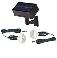 Kit iluminacion solar 2 lamparas 20 led