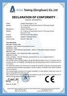 Certificado Leadsun