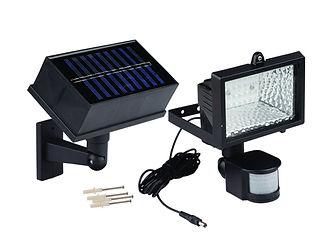 Reflector solar con sensor de movimiento