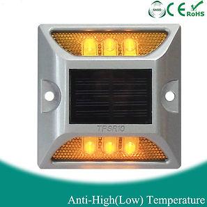 Marcacion por energia solar, de seguridad utilizando un producto ecologico, sin consumir energia