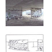Sketch Process for Murals