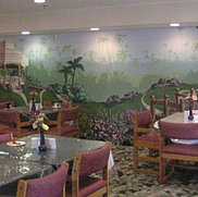 Retirement Dining Hall Mural