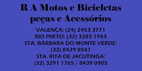 R A Motos e Bicicletas, Peças e Acessórios
