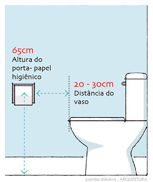 Decor Tips Dimens Es Vaso E Porta Papel Higi Nico