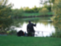 Coarse fishing at Westerly Lake Fishing and Caravan Park Yorkshire.