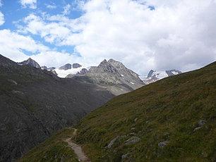 Le massif de Vernagt Spitze