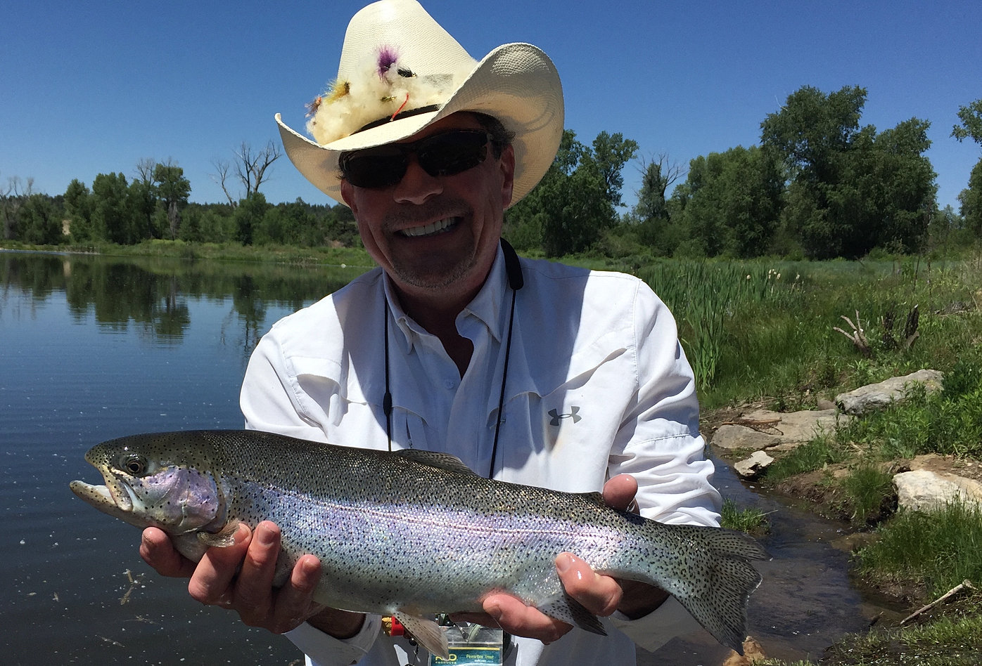 Trout stalker ranch fly fishing and hunting in chama nm for Trout farm fishing near me