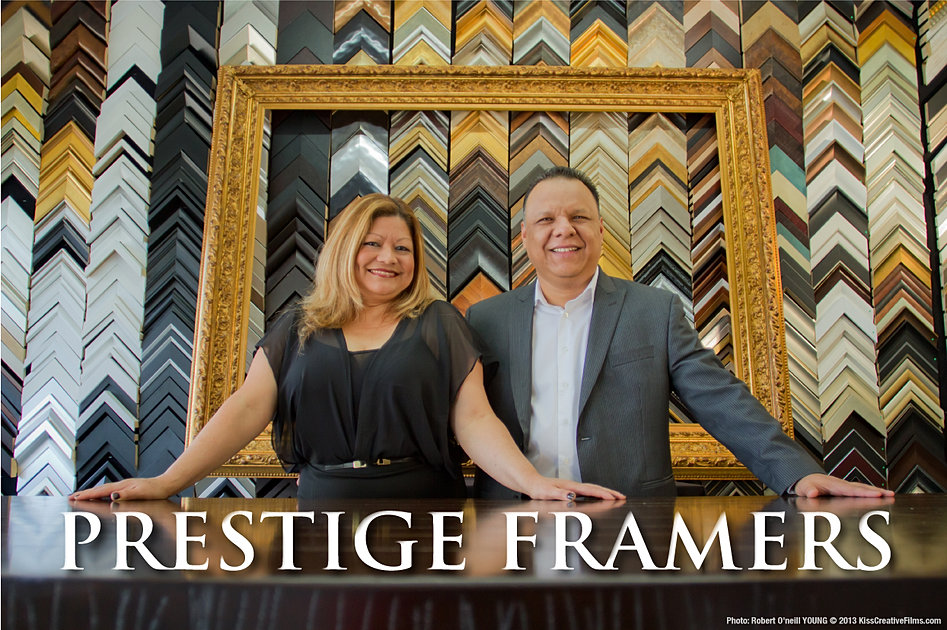custom framing by the experts at prestige framers