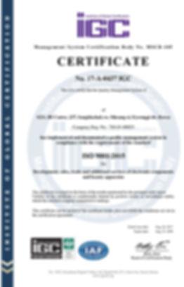 17-A-0437 ISO 9001 certificate_Rev4(en )