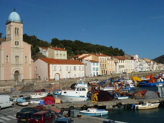 Chez mireille et jean paul port vendres chambres dhotes bed and breakfast collioure - Restaurant le france port vendres ...