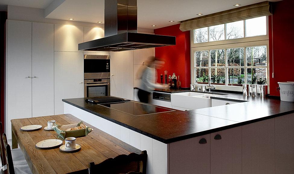 Moderne Keukens Gent : ... interieurstijl keukeneiland keukens mp buyl ...