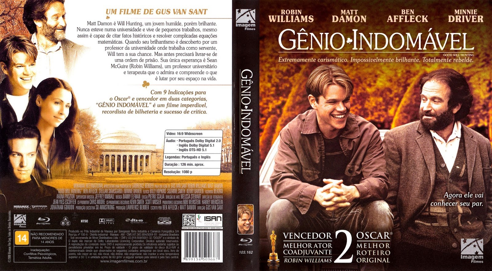 Gênio Indomavel intended for gênio indomável dvd original - matt damon - r$ 25,00 em mercado livre