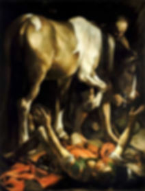 Conversion on the Way to Damascus-Caravaggio