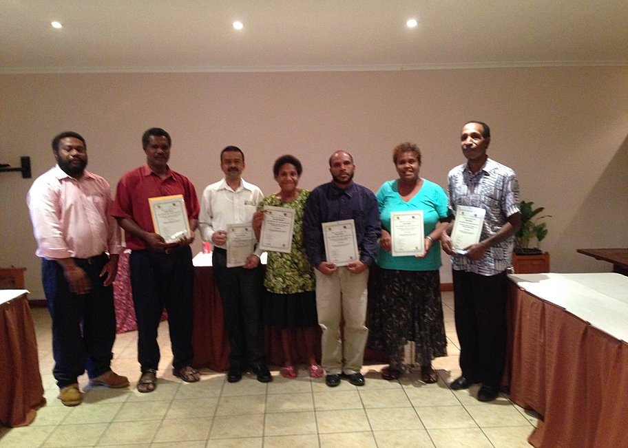 13 RPL Assessment Certificate Awards